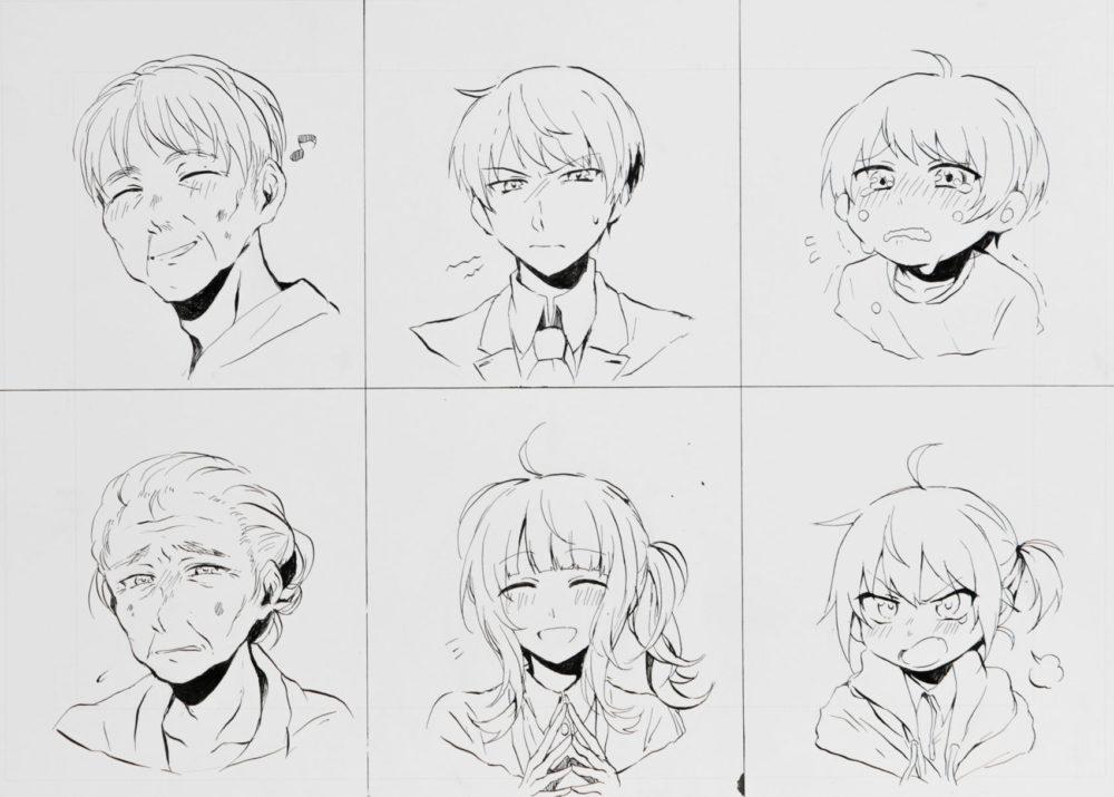 2018前期-マンガ基礎(表情と年齢の描き分け)5